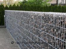Gabbioni 2 - lato della strada, parete insonorizzata