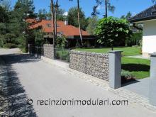 Recinto di pietra – stretta 1 - muro, giardino, abitazioni privati