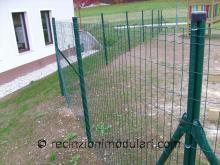 Recinzione del reticolato 1 - filo metallico, giardino